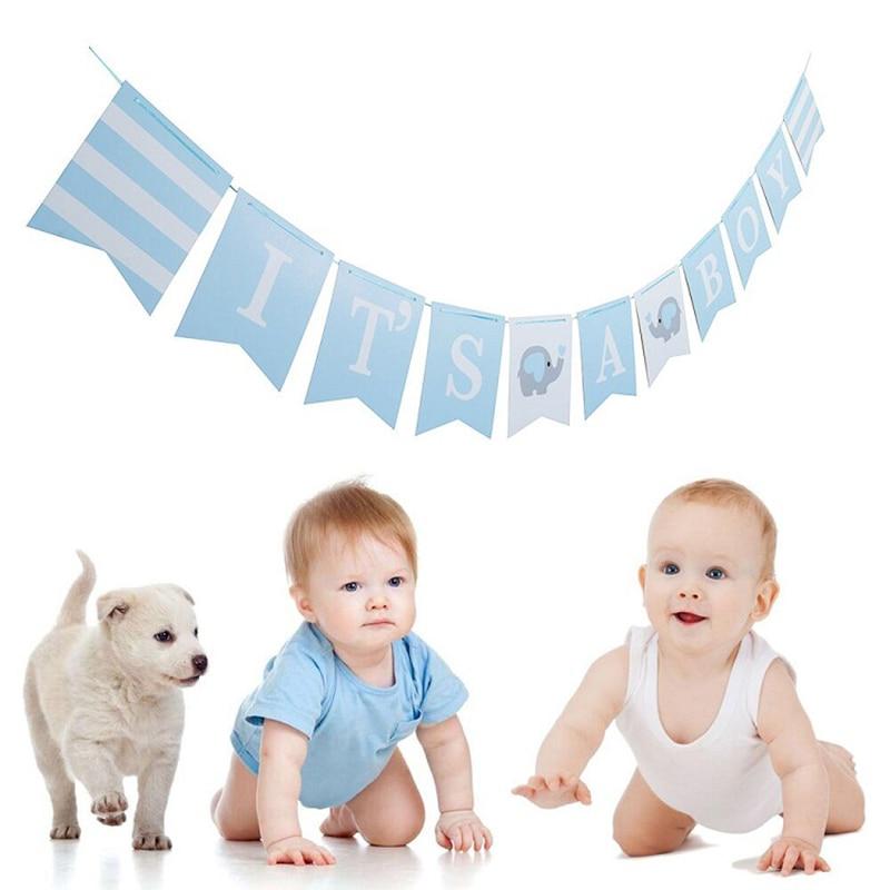 1 set Ipopu olifant Baby Shower Jongen Meisje Het een Jongen Het een Meisje Geslacht Onthullen Kids Verjaardag baby Shower feestartikelen 2