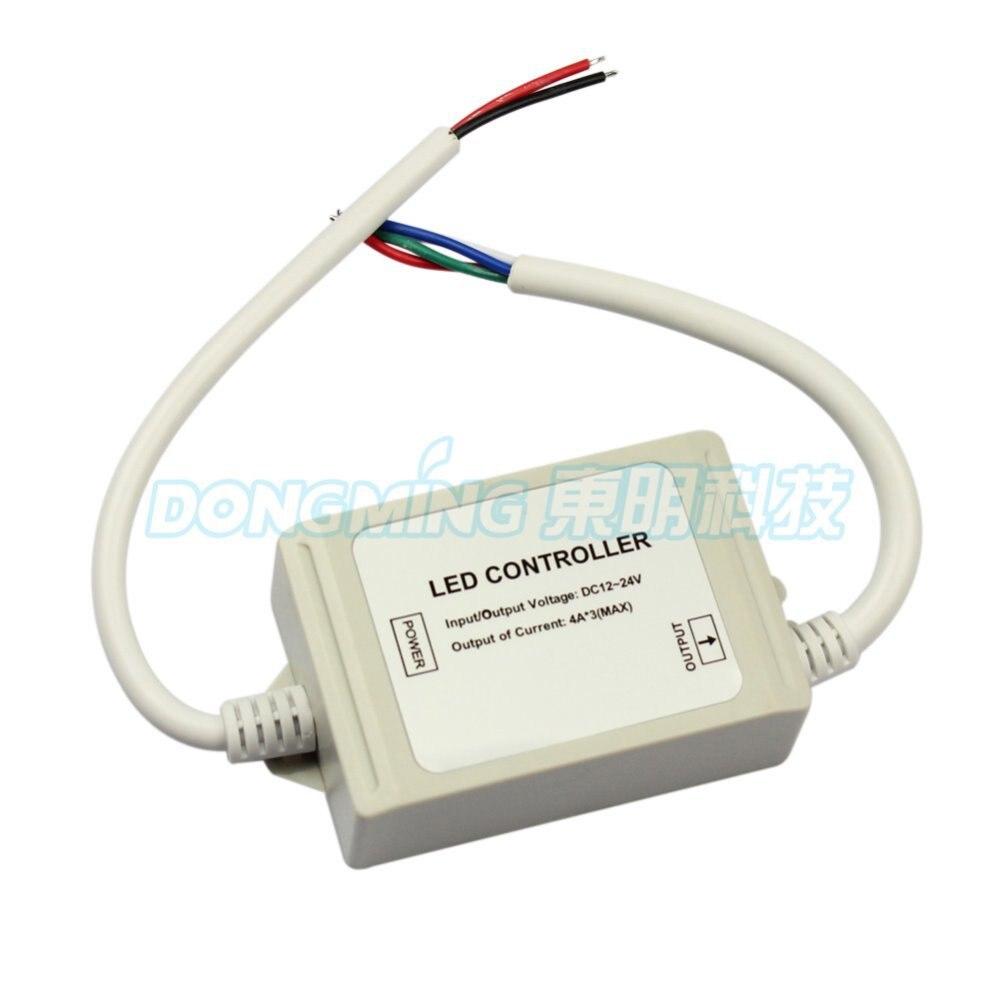 Free shipping DMX512 Decoder Led Controller DC12 24V 4A 4 Channel demoder led remote conroller decoder - 2