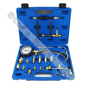 Image 1 - New Arrival TU 114 Fuel Pressure Tester Pressure Gauge Auto Diagnostics Tools Set