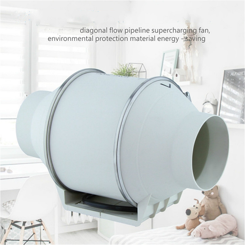 3 4 5 Removal ventilate 35 45W Silent kitchen exhaust fan duct booster fan ventilation extractor
