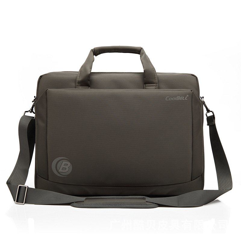 ФОТО Coolbell fashion casual Laptop bag Shockproof and waterproof 15 .6 inch  Laptop Bag Single shoulder bag handbag free shipping