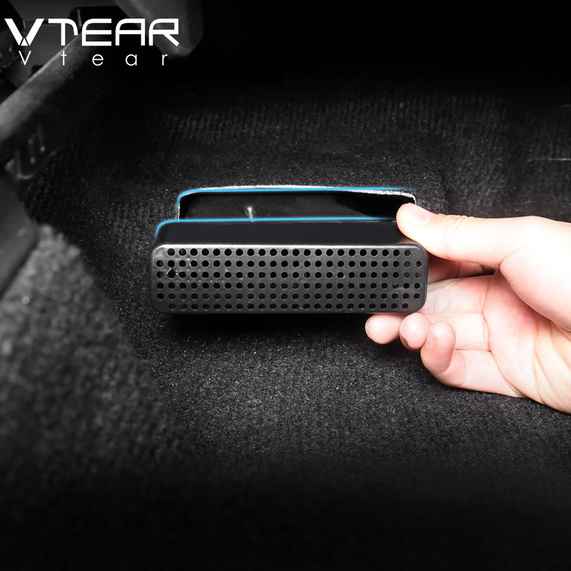 Vtera For Toyota C-HR CHR ABS Accessories Car Air Outlet Protection Cover Car Seat Bottom Dust-proof Interior Parts 2017-2019