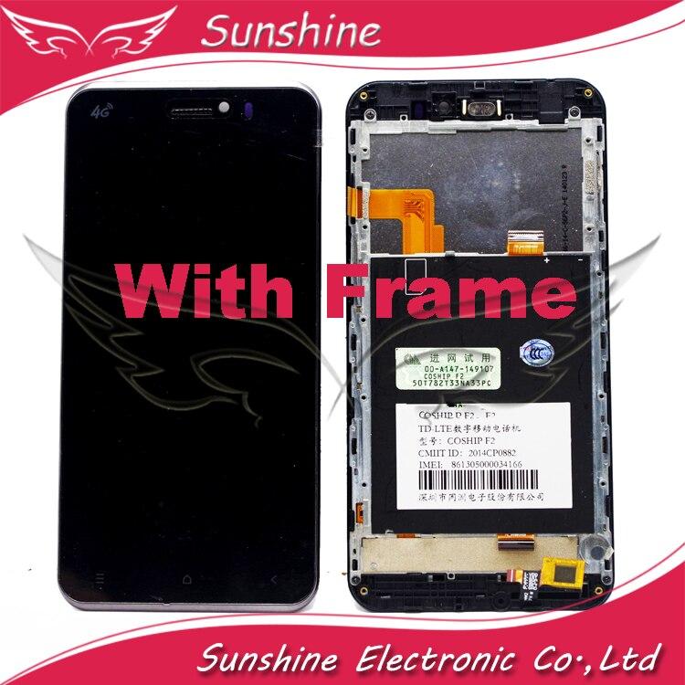 imágenes para Probado LCD Para ViewSonic V500 V500-3 Coship F2 Pantalla LCD Táctil Digitalizador Asamblea Panel