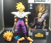 Banpresto originais Grandista ROS resolução de soldados De Dragon Ball Z Son Gohan figura Estatueta toy modelo(China)