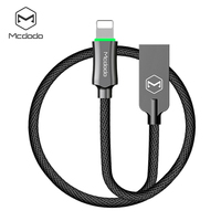Mcdodo High End Zinc Alloy Shell Knight Lightning Auto Disconnect Data Cable 1 2m For Ios8
