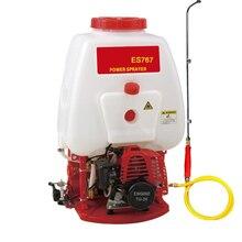Sprayer ES767 Gasoline Knapsack Sprayer Petrol Backpack Sprayer Power Mist Garden Tool Farming Agriculture Machine Free Shipping стоимость