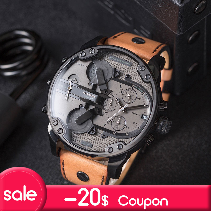 Diesel THEDADDIE Series Four Time Zone Men's Watch - Men's Watches