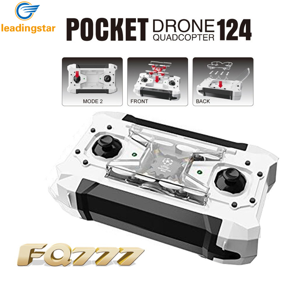 Mini Drone 4 Colors Small Pocket Drone FQ777-124 2.4G 6-Axis Gyro 4CH Headless One Key Return RC Quadcopter RTF Helicopter Dron (12)