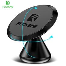 FLOVEME Magnetic Phone Car Holder For iPhone X 10 7 8 6 Plus 360 Rotation Car Holder Desktop Phone Stand Magnet GPS Bracket
