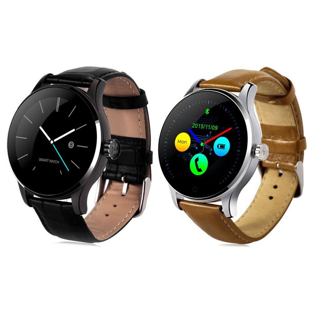 Reloj inteligente K88H reloj de pulsera Bluetooth MTK2502 Monitor de ritmo cardíaco salud hombres mujeres reloj inteligente Whatch para teléfono Android ios Wear-in Relojes inteligentes from Productos electrónicos    1