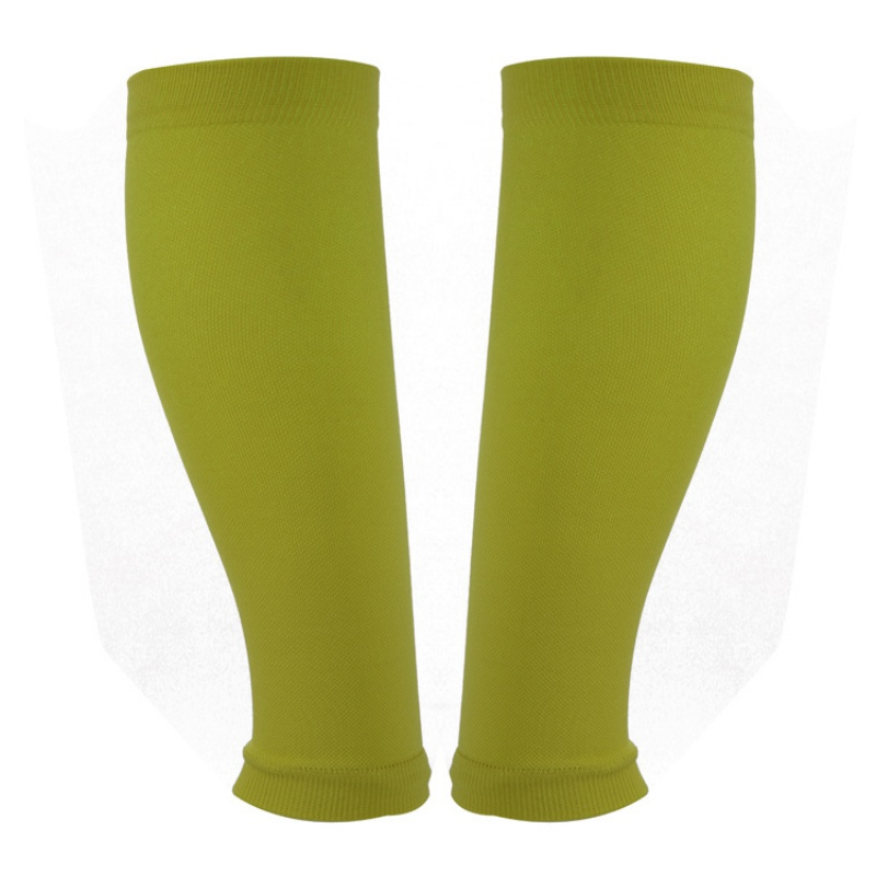 2018 New Calf Support Gradient Compression Leg Warmers Sports Socks Snowboard Kneepads font b Football b