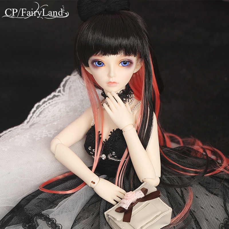 O Envio gratuito de Bonecas BJD Minifee Celine 1/4 Moda Resina Flexível Figura Fêmea Fadas Fullset Fairyland Brinquedo Para Crianças