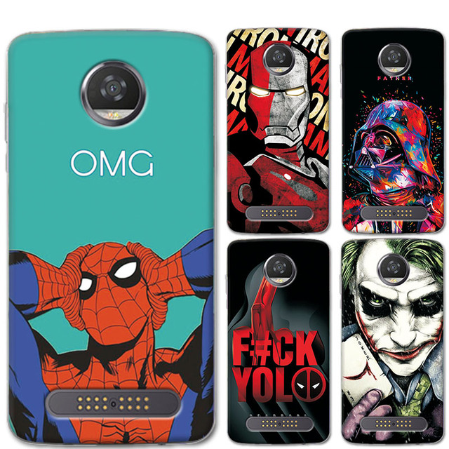 new concept 42d23 83a45 US $1.17 20% OFF|New Arrival Fashion Charming Case For Motorola Moto Z2  Play 5.5