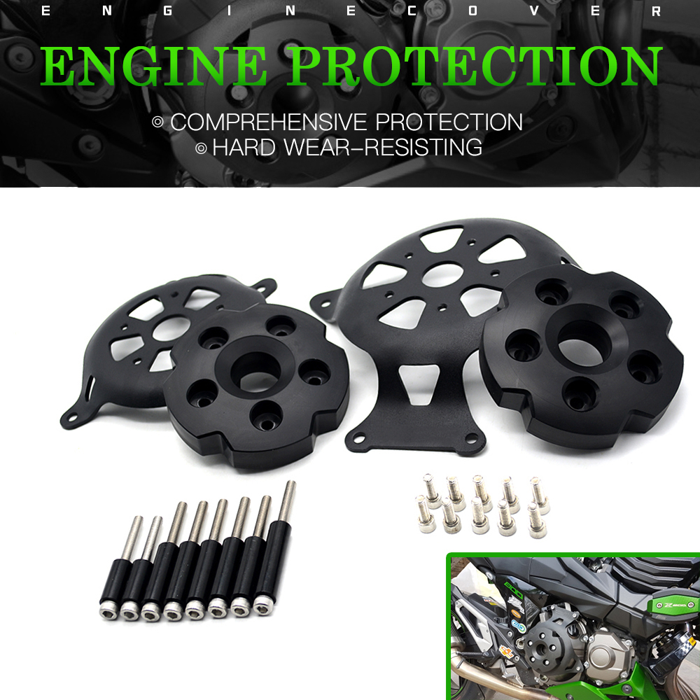 For Kawasaki Z750 Z800 2013 2016 Motorcycle Engine Stator Cover Engine Guard Accessorie Protection Motor Frame
