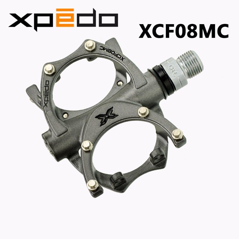 "Black Xpedo TRAVERSE 8 CR XCF-08MC Magnesium Bike Cycling 9//16/"" Pedals"