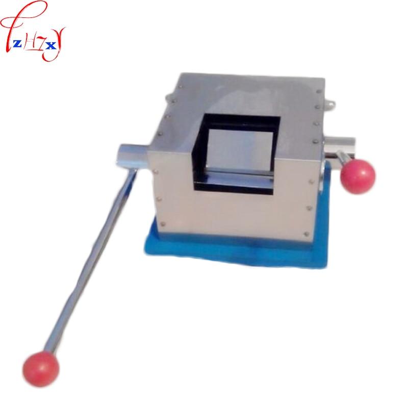 Machine à cintrer manuelle T WZJ-II T testeur de courbure machine équipement test le testeur de pliage T enduit de ceinture en acier