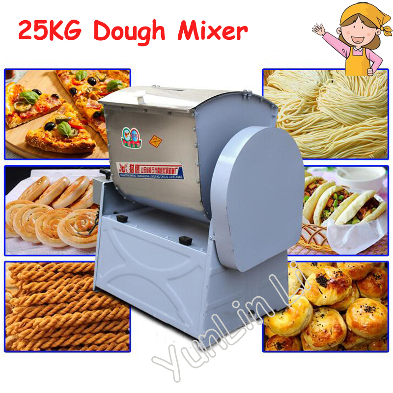 25KG Commercial Flour Dough Mixer Chinese Automatic Steamed Bun Kneading Machine for Sale HWT25 аксессуары для косплея steamed stuffed bun cosplay psycho pass ppcos