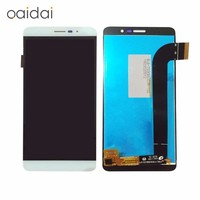 LCD Display Touch Screen For Coolpad E570 Porto S Mobile Phone Digitizer Assembly Replacement Parts With