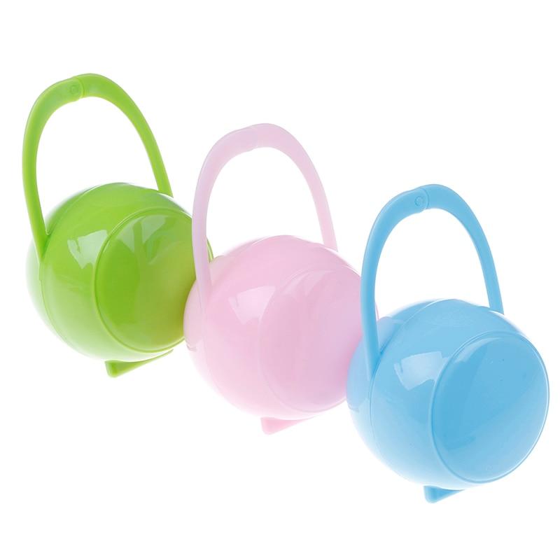 1 Pc Pflege Baby Tragbare Unisex Baby Jungen Mädchen Kind Schnuller Nippel Cradle Fall Halter Box Bequem Herausragende Eigenschaften