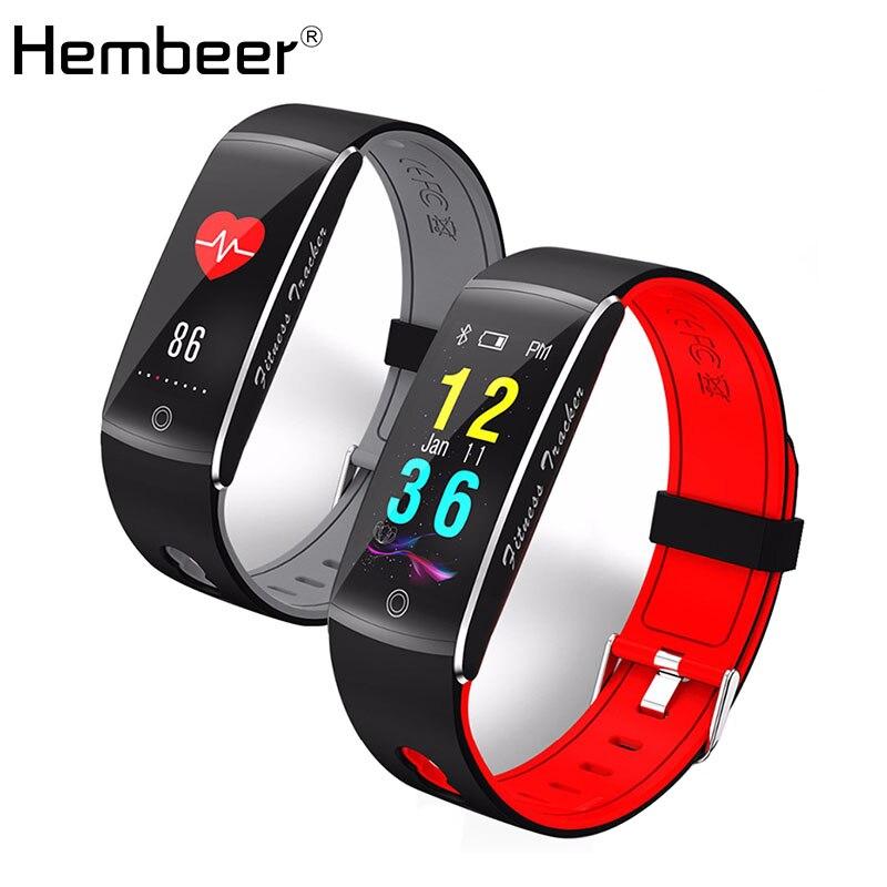 Hembeer H10 Smart Bande Natation Cyclisme Mode Remise En Forme Bracelet Relogio Inteligente Activité Tracker Avec Moniteur de pression Artérielle