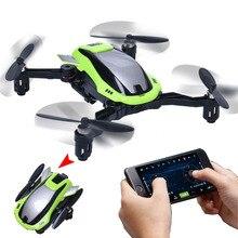 KaiDeng K100 ECUADOR Drone Autofoto 2.4 Ghz 0.3MP Cámara de ALTA DEFINICIÓN WiFi g-sensor de mantenimiento de Altitud RC Drone FPV Plegable Quadcopter RTF