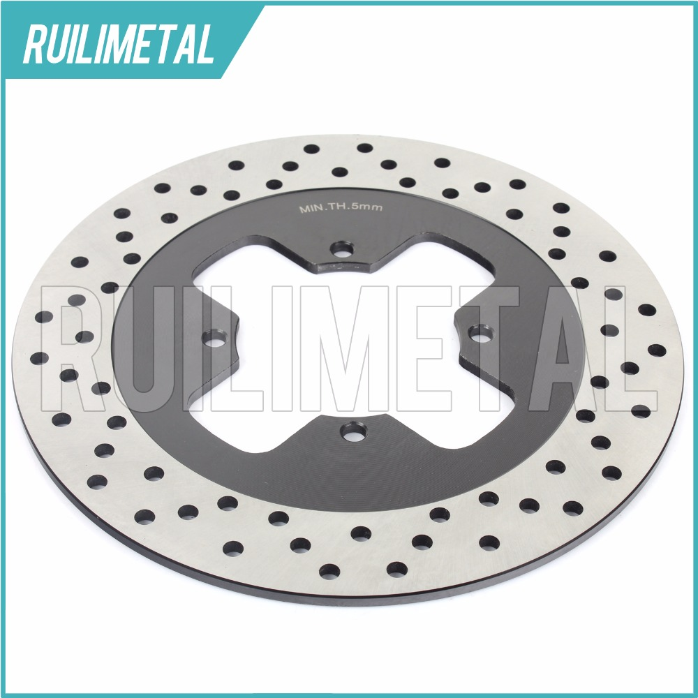 Rear Brake Disc Rotor for SUZUKI GSX 250 S Katana SS GSX 400 F  FA  Impulse 1994 1995 1996 1999 94 95 96 rear brake disc rotor for ducati junior ss 350 m monster 400 ss supersport 1992 1993 1994 1995 1996 1997 92 93 94 95 96 97