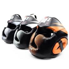 Муай Тай ММА тхэквондо боксерский шлем Санда Боевые искусства Борьба Обучение защита для головного убора оборудование DDO
