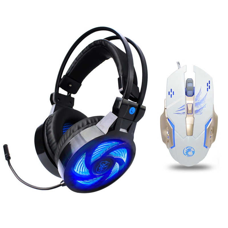 Gaming Headphone casque Soyto PS4 Best Computer Stereo Deep Bass Game Earphone Headset with Mic LED Light for PC Gamer Xbox One