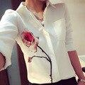 2016 nova primavera flor da mulher impressão estilo da camisa de verão blusa feminina blusa camisa feminina plus size mulheres blusas