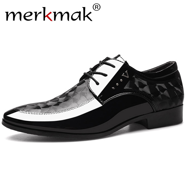 Fashion Men/'s Dress//Formal//Casual Flat Shoes Lace Up Leather Office Shoes