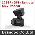 1296P Super car dashboard camera with GPS, support Max. 256GB micro sd card, M6