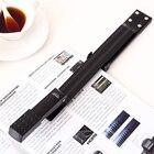 Free shipping deli 0334 make book repair book stapler long arm stapler binding machine manual metal stapler