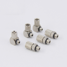 PC4-M5 M6 PL6-M5 twist joint Fast contort Pneumatic components Quick Fitting OD 4mm 6mm Tube M5