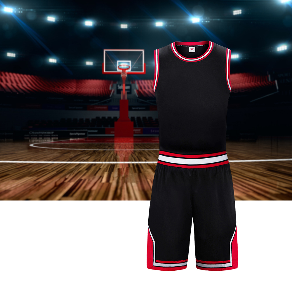 все цены на SANHENG Men's Basketball Jersey Shorts Competition Uniforms Suits Breathable Sports Clothes Sets Custom Basketball Jerseys 309AB
