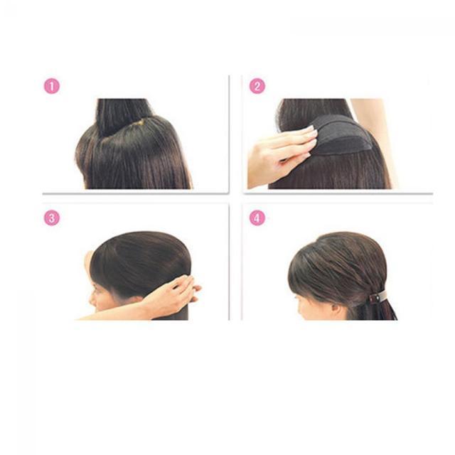 2 X Sponge Hair Maker Styling Twist Magic Bun Hair Base Bump Styling Insert Tool