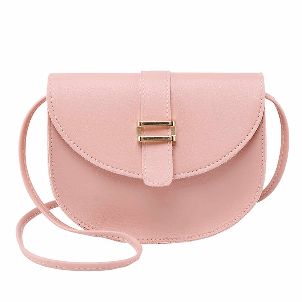 Women's Simple All-purpose Small Square Bag Single Shoulder Messenger Bags Simple fashion Single Shoulder women's Bag 2019 Apr 4