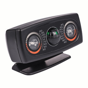 Image 3 - תכליתי רכב מצפן מדרון למדוד רכב אביזרי כלי מדריך כדור רמת גל נטייה מכשיר רכב Inclinometer