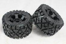 Baja 5B trasera todo terreno neumáticos conjunto de la rueda para HPI 95120