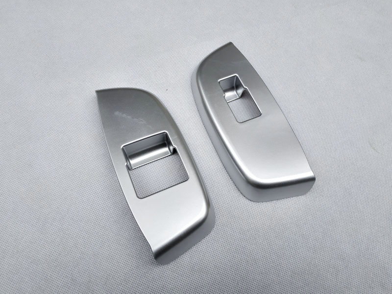For NISSAN NV200 Evalia 2010 2018  interior Door handle Armrest Cover Sticker trim chrome car accessories (17)