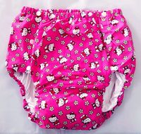 Free Shipping FUUBUU2042 KT adult baby diaper plastic pants for babies adult baby romper baby adult diaper abdl