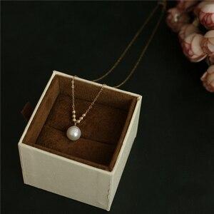 Image 3 - Natuurlijke Parel Choker Gold Filled Ketting Handgemaakte Vintage Charm Sieraden Collier Bijoux Femme Collares Boho Ketting Voor Vrouwen