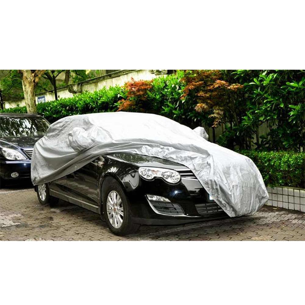 Универсальные чехлы для автомобиля, снежный лед, пыль, защита от солнца, УФ-защита, складной светильник, серебристый Размер, S-XXL, защита для автомобиля, для улицы