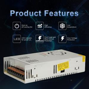 Image 5 - Universal Switching Converter Power Supply Adapter Transformer Switch Power for LED Strip Light 220V to 12V DC 30A 360W