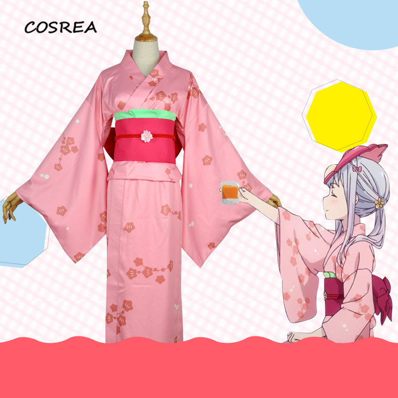 Anime Summer Animation Girl Eromanga Sensei Izumi Sagiri Cosplay Costume Full Set Dress+Belt+Bow+Coat Halloween Uniform Costumes