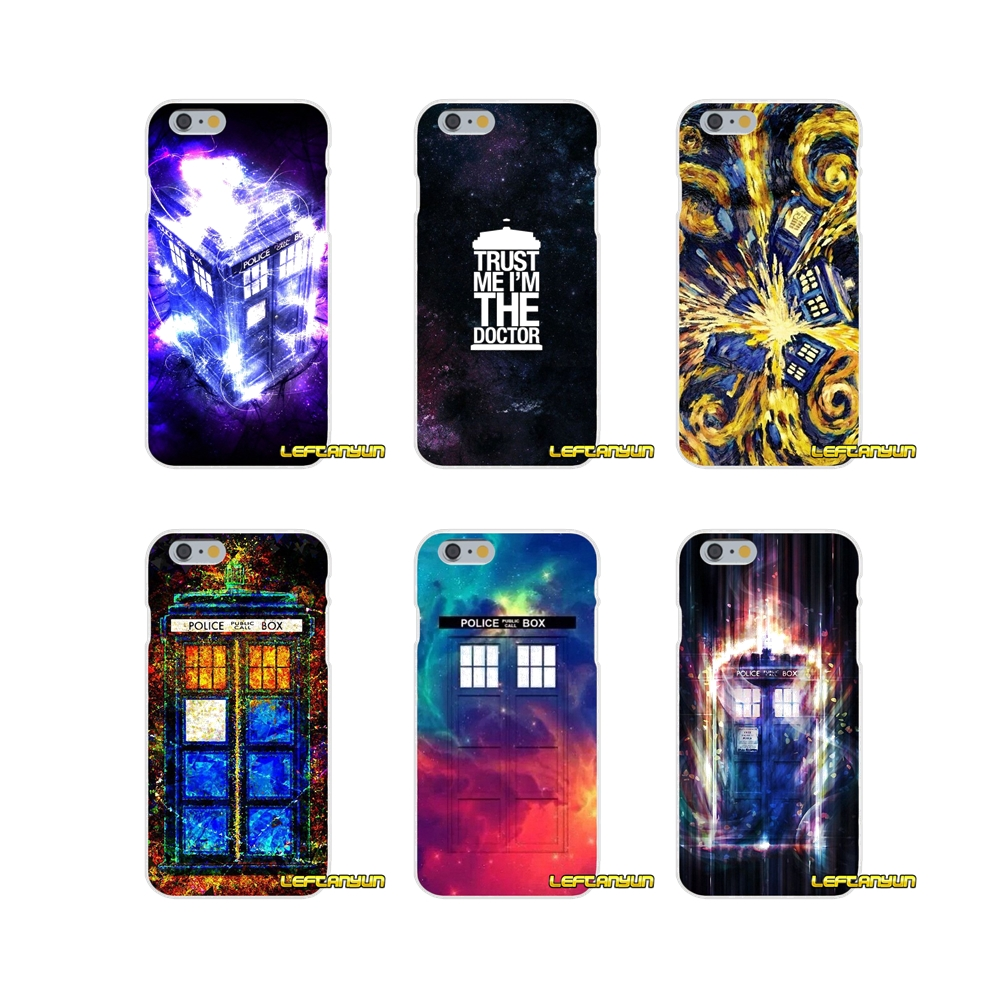 For iPhone X 4 4S 5 5S 5C SE 6 6S 7 8 Plus The Doctor Who Soft Phone Case Silicone