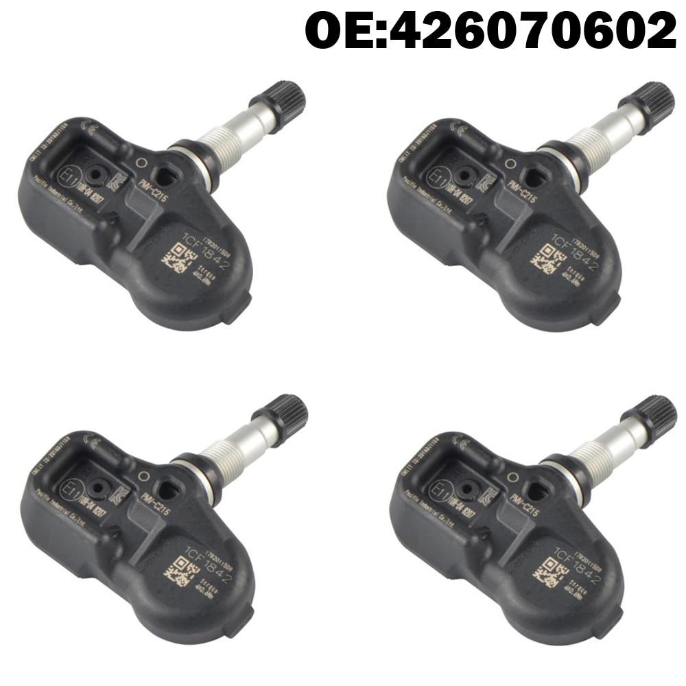 4 pièces capteur de moniteur de pression de pneu de voiture TPMS pour Lexus IS250 ES300h NX GS LS RC RX