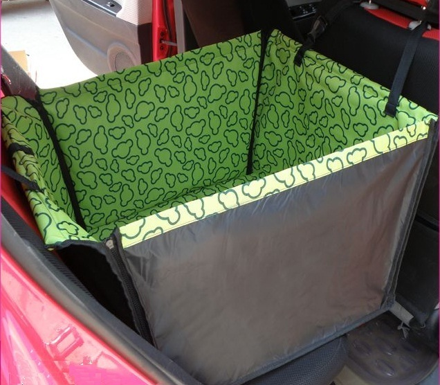 Pet Carrier Dog Cat Car Rear Back Seat Carrier Cover Pet Dog Mat Blanket Cover Pet Mat Hammock Cushion Protector Dog Accessories