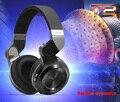 Bluedio t2 + estilo dobrável bluetooth v4.1 + edr fone de ouvido sem fio para smartphone tablet pc para o esporte com microfone de alta qualidade dos graves
