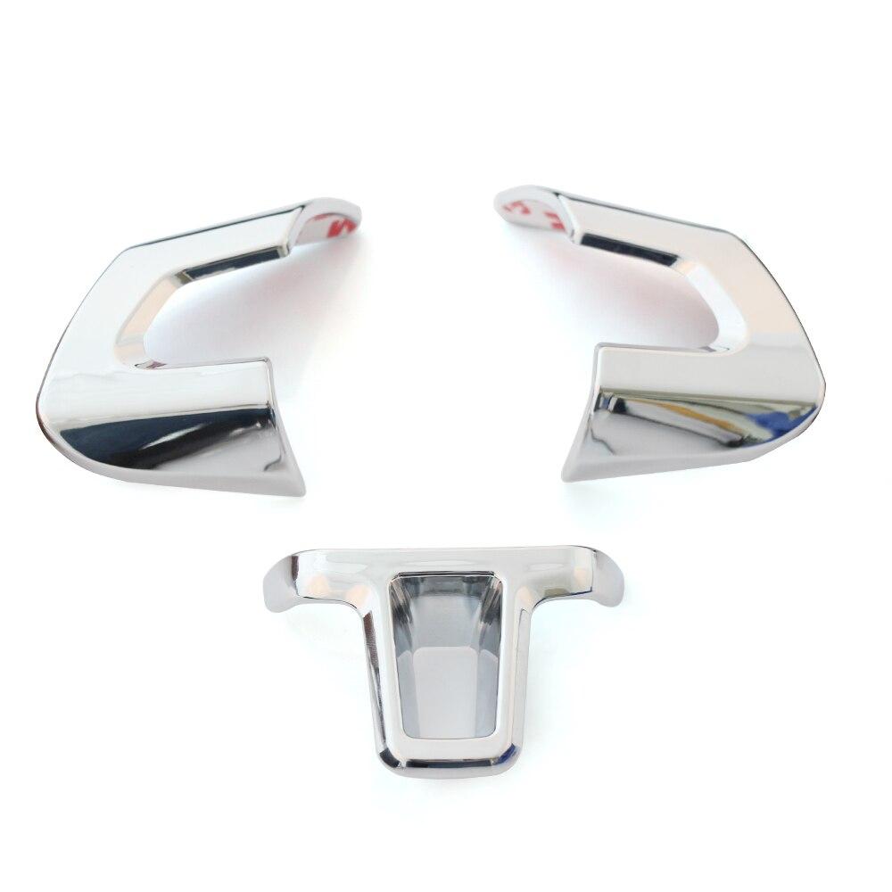 steering wheel sticker abs chrome trim accessories case. Black Bedroom Furniture Sets. Home Design Ideas