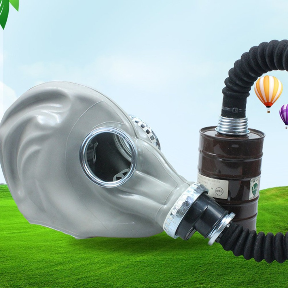 Respirator Gas Mask Fire Control Military Pesticides Gas Mask 6800 Gas Mask non-toxic Protective Mask High quality yihu gas mask blue two pot efficient respirator gas mask paint spray pesticides industrial safety protective mask